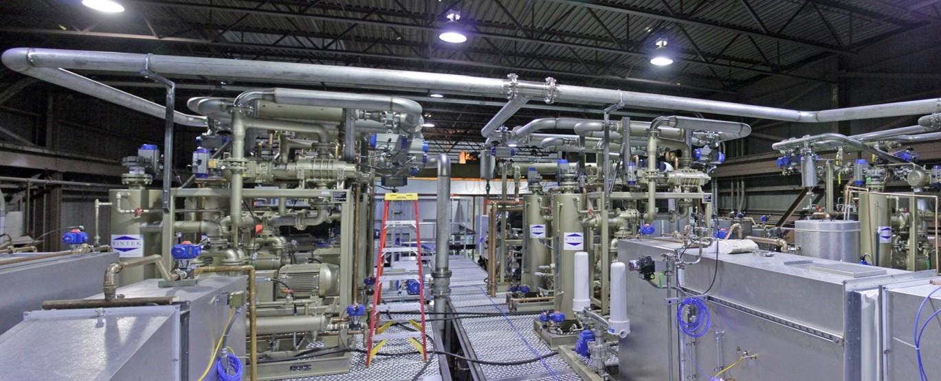 Industrial Custom Process Vacuum System