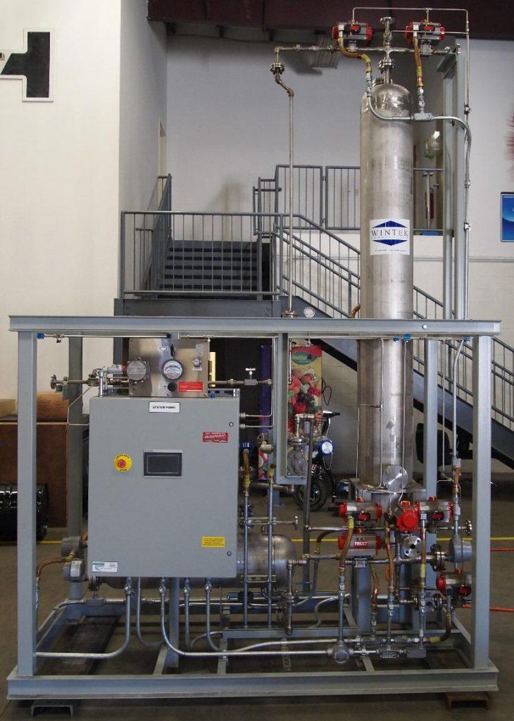 liquid phase MSDU wintek isopropyl alcohol dehydration
