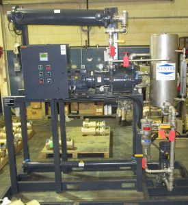 vacuum deaeration full recovery unit condenser, liquid ring vacuum system