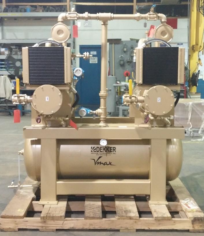 vacuum impregnation system duplex rotary vane vacuum system